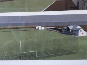 Swan's new field development on Ballyrichard Road